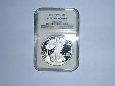 2010-W American Eagle Silver Dollar Coin NGC PF 69 UC