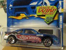 Hot Wheels T-Bird Stocker #155 Hotwheels Racing Blue