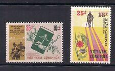 Vietnam-S.  1974  Sc #482-83  Surcharged  MNH  (1-149-5)