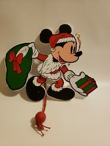 Walt Disney Company Mickey Mouse Moving Arms Legs Christmas Decoration Holliday