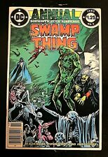 Swamp Thing Annual #2 DC 1985 1st Prototype Justice League Dark VF