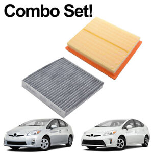 Combo Set Engine Cabin Activated Carbon Air Filter For Lexus CT 200H