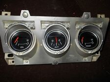 1971 1972 1973 FORD MUSTANG 3 GAUGE UPPER CONSOLE GAUGE OPENING LENS SET NEW 3PC