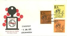 LEEUWARDEN (NETHERLANDS) LOCAL POST FIRST DAY COVER 1970 CARTOON CHARACTERS