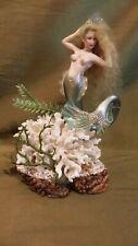 Dollhouse Miniature Artisan Mermaid Doll Sculpture