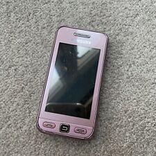 Samsung GT S5230-Teléfono inteligente Móvil Rosa