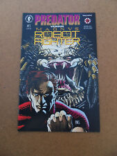 Predator Vs. Magnus Robot Fighter 1 of 2 . Dark Horse  1992 . VF - minus
