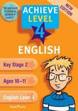 New, English Level 4 Revision Book (Achieve), Richard Cooper, Book
