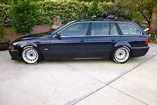 CUSTOM TWO PIECE CORSA GT STEEL WHEELS STEELIES FIT BMW E39 525I/528I/530I/540I