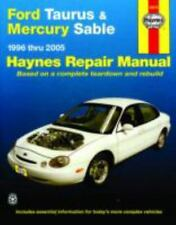 Ford Taurus & Mercury Sable 1996 thru 2005 (Hayne's Automotive Repair Manual) (