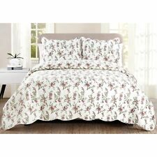 Luxury Collection Gloria King 90 in x 100 in Quilt Set