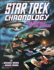 STAR TREK CHRONOLOGY THE HISTORY of the FUTURE  by  MICHAEL & DENISE OKUDA