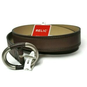 """Relic Brand Brown Belt- Size XL 40"""" New With Tags"""