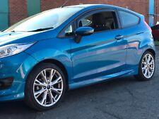 Ford Fiesta MK7  Zetec S  Wind & Rain Deflectors Pair Dark Smoked NEW