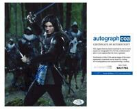 "Ben Barnes ""The Chronicles of Narnia: Prince Caspian"" SIGNED 8x10 Photo ACOA"