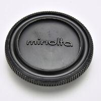Genuine Minolta Black Camera Body Cap SR MC MD SRT XG XD (#3527)