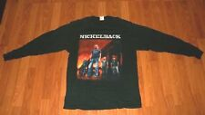 XL Hard Rock Group NICKELBACK CANADA TOUR Longsleeve CONCERT T-Shirt men womens