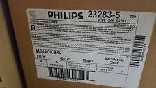 Philips 23283-5 MS400/U/PS  METAL HALIDE 400WATT LIGHT BULB Case/ 6
