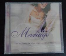 MARIAGE Musiques Pour Le Plus Beau Jour De Votre Vie CD New FREE SHIPPING Sealed