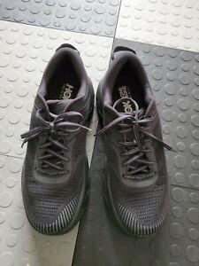 Hoka One One Running Bondi 7 Black  Men Shoes workout gym. US 9.5