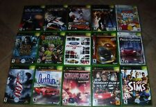 15 GAMES FOR XBOX COMPLETE WITH CASES & INSTRUCTIONS**GENTLY USED
