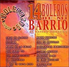 Various Artists : Boleros De Mi Barrio CD