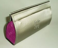 CYNTHIA ROWLEY EYEGLASSES CASE  SILVER AND ROSE LAST ONE SLIGHT BLEMISH