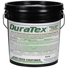 Acry-Tech DuraTex Black 5 Gal Spray Grade Cabinet Coating