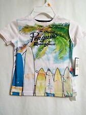 Boys T-Shirt 3T Original Penguin By Munsingwear Swim Shirt Summer Pool BeachWear