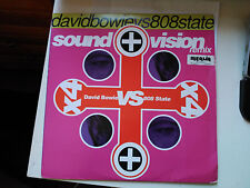 MAXI 12'' DAVID BOWIE VS 808 STATE -SOUND + VISION (REMIX)- TOMMY BOY US 1991 VG