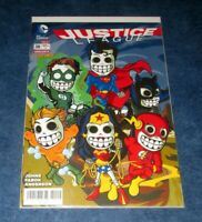 JUSTICE LEAGUE #38 galaveritas exclusive DAY OF THE DEAD variant DC WONDER WOMAN