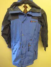"Vintage Genuine Berghaus GORE-TEX Walking Jacket Coat S 34-36"" Euro 44-46 - Blue"