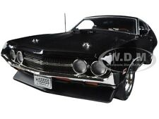 1970 FORD TORINO COBRA JET 429 RAVEN BLACK LTD ED 1002PC 1/18 AUTOWORLD AMM1085
