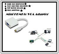 Mini HDMI to VGA Adaptor/Converter (Male-Female)