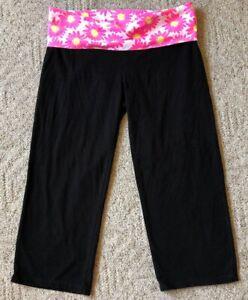 """Victoria's Secret """"Pink"""" Mid-Calf Yoga Pants"""