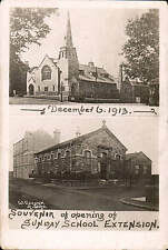 Liversedge Sunday School Extension Souvenir by W.Cooper, Heckmondwike.