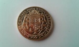 1989 QUEEN ELIZABETH II 500th ANNIVERSARY PROOF FULL GOLD SOVEREIGN