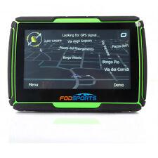 Ipx7 Bluetooth Motorcycle Gps Navigator Navi for Kawasaki Ninja Green+Free Maps