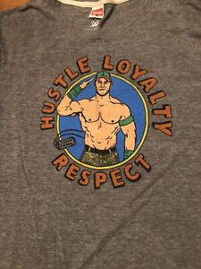 Homage WWE John Cena Throwback Shirt XXL EUC