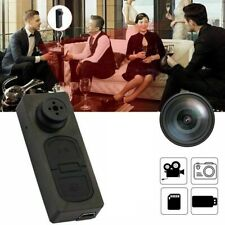 1080p Mini HD Button Hidden Camera Camcorder Video Recorder DV Spy Pinhole Cam K