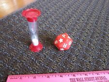 Scattergories Junior Timer & 20-sided Die Replacement Parts Game Pieces FreeShip
