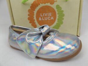 Livie & Luca Halley Flats, Toddler Girls SZ 7.0 M, Disco Shimmer Iridescent 1671