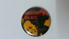 Gregory Isaacs reggae Cool Ruler artist music SMALL buttons vintage