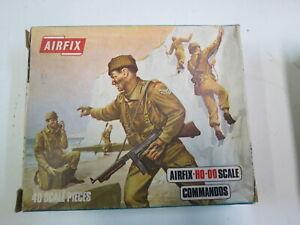 1/72 AIRFIX WWII BRITISH COMMANDOS INFANTRY 40 FIGURES