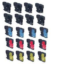 20 drucker Patronen für Brother DCP145C  DCP165C  DCP185C DCP195C ersetz LC980