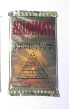 UnLimited Booster Packs  Illuminati Card Game   INWO   NEW WORLD ORDER   NUKE
