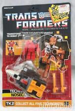 Transformers Original G1 1987 Nosecone Complete w/ Card Unused Stickers Decoy