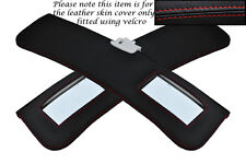 RED STITCHING FITS ALFA ROMEO GTV COUPE 916 95-05 2X SUN VISORS COVER ONLY