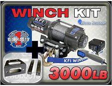 3000 lb KFI Winch Combo Polaris RZR RZR-S RZR 4 800 2008-2014 RZR 570 2012-2015