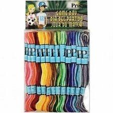 DMC Prism Friendship Bracelets Craft Cotton Thread - Variegated - 36 Skeins